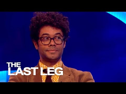 Richard Ayoade Thinks Everyone Should Have Guns  The Last Leg
