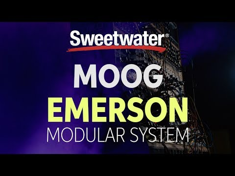 Moog Emerson Modular Synthesizer System Review