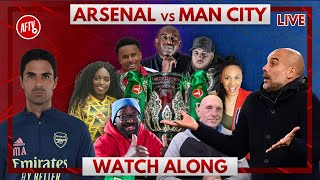 Arsenal vs Man City | Watch Along Live