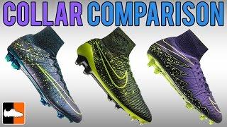 Superfly vs. Obra vs. Phantom II - Nike Sock/Collar Comparison