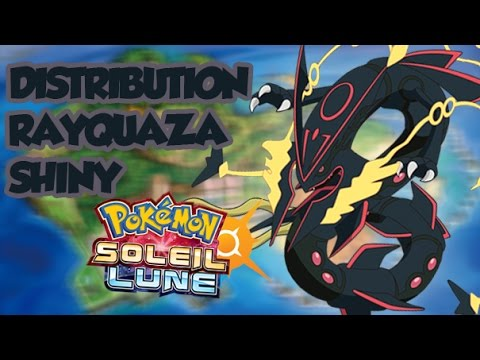 Legit distribution de mega rayquaza shiny strats lvl100 6iv pokemon soleil et lune youtube - Legendaire shiney ...