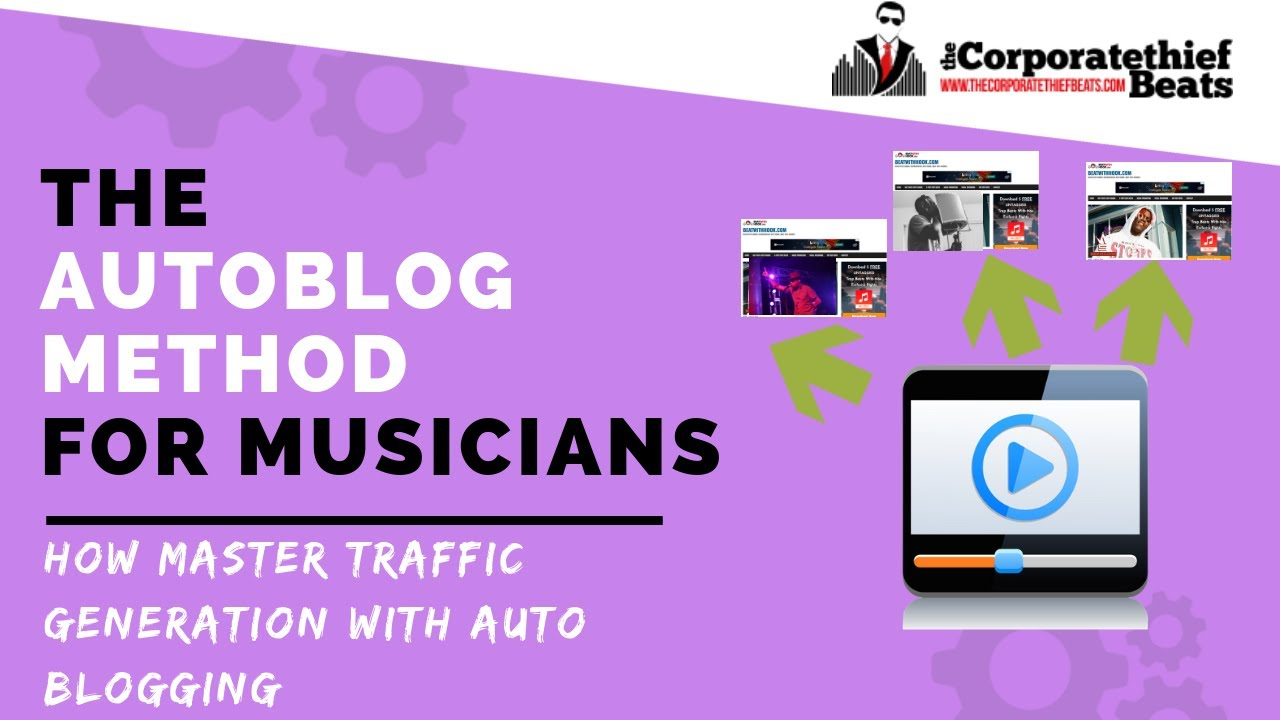 Autoblog - How To Promote Your Music With An Automated News Website