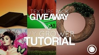 GFX Pack Giveaway/Ivy Grower : Cinema 4D Tutorial
