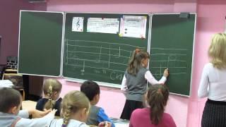 Урок в первом классе  Нотная грамота