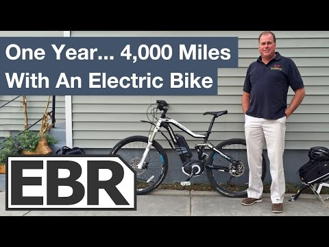Ebike Q&A: One Year and 4,000 Miles With an Electric Bike!