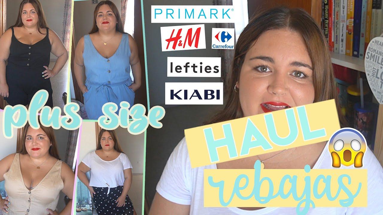 Haul Rebajas Agosto Talla Grande Primark H M Lefties Youtube