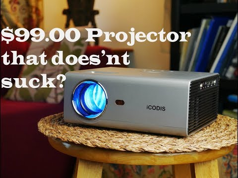 Icodis T400 Video Projector $99.00 Does It Suck? No!