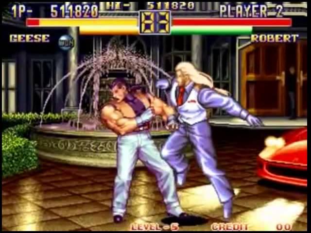 Art Of Fighting 2 Geese Arcade Youtube