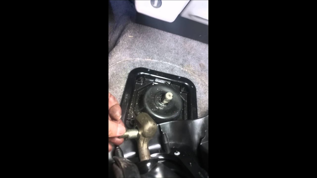 1998 Ford Ranger Gear Shift Lever Removal Youtube
