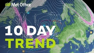 10 Day Trend – Warming up but for how long will the sun shine? 18/09/19