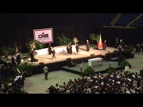 Michael Doran Catholic High graduation