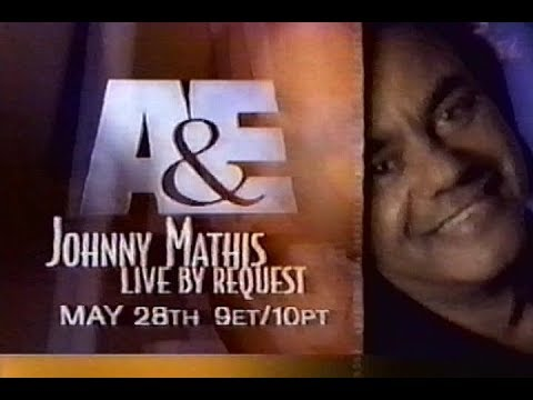 Johnny Mathis Live by Request (1998) A&E Promo