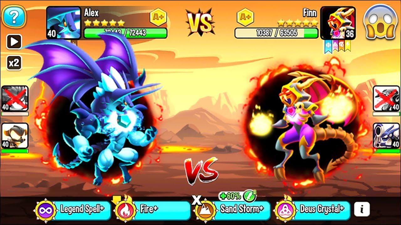 Dragon City: Prideful Vampire Dragon | NEW League Battle 200 [MAX LEVEL] 😱