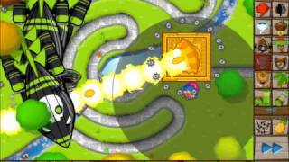 BTD5 Sun God Temple Upgrade for Super Monkey