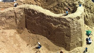 LEGO CITY SAND WALL BREAK