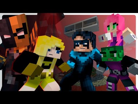 Minecraft Teen Titans vs Terra - Slade Returns! (Ep.1 Minecraft Roleplay) Nightwing Plays Minecraft