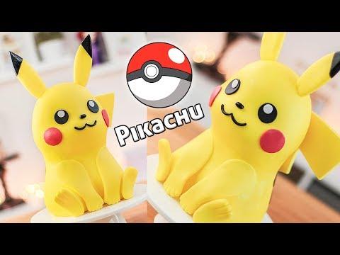 Pikachu - Torta Decorada 3D - Tan Dulce