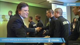Culminó el XXIII Curso de Formación de Comandos Policiales ETER