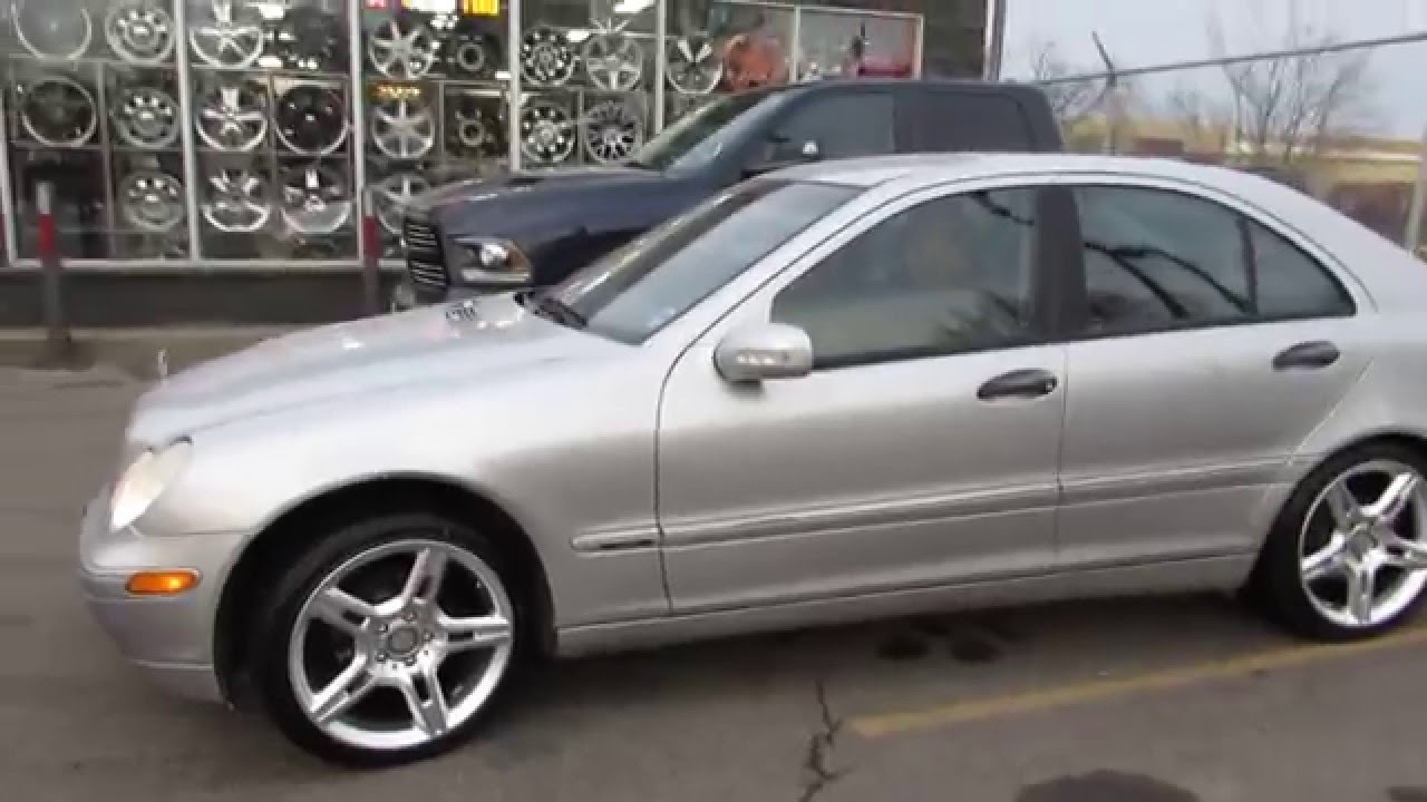 small resolution of hillyard rim lions 2003 mercedes c230 riding on 18 inch custom rims tire amg rims