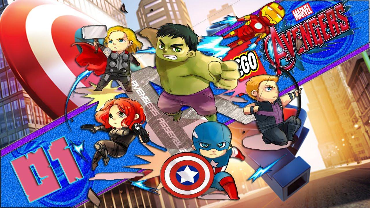 lego marvel avengers ep 1 - YouTube