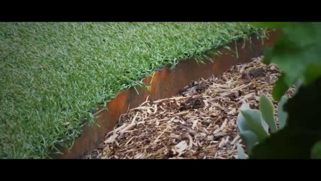 Iron Garden Edging DIY - YouTube