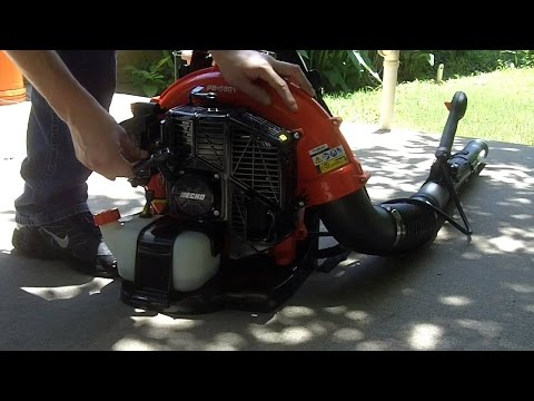 ECHO PB 580T Leaf Blower Unboxing and Review