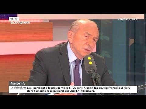 "Gérard Collomb : Najat Vallaud-Belkacem s'est ""fourvoyée"""