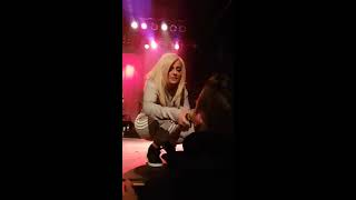 bebe rexha sings fff fuck fake friends in toronto at the phoenix soundcheck