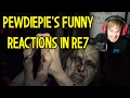PewDiePie's Resident Evil 7 (Funny Reactions and Jumpscares)