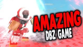 This NEW Dragon Ball Z Game is ACTUALLY AMAZING! Better Than FINAL STAND?!? ROBLOX | iBeMaine