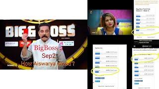 Big boss2 Tamil | Sep 8th 2018 |  week 12  || elimination | Real Reason for Aiswarya Saved?