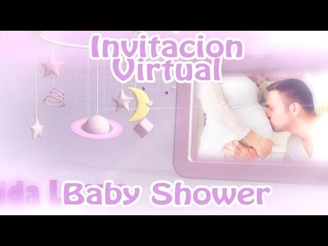Invitacion Virtual Baby Shower