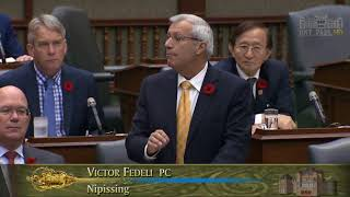 Fedeli grills Minister on latest casino deal developments Nov. 2, 2017