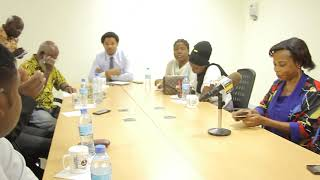 Speech by Dr Donald Kisanga President Tanzania Music Foundation