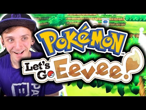 KANTO IS BACK BABY!   Pokémon Let's Go Eevee Let's Play Part 1 - Let's Go Pikachu and Eevee Gameplay