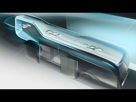 "World premiere ""city bus of the future"" - Mercedes-Benz original"
