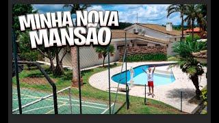A MINHA NOVA MANSÃO! ( GIGANTE )