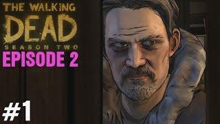 "The Walking Dead Season 2 Episode 2 Gameplay Walkthrough Part 1 ""A House Divided"" Telltale Game"