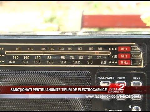 SANCtIONAȚI PENTRU ANUMITE TIPURI DE ELECTROCASNICE