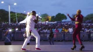 FRANKIE DEE ft Sis P - Bullet Love  Live in Mombasa