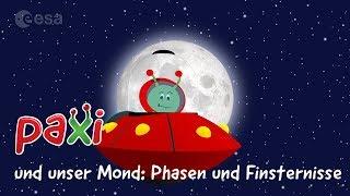 Paxi und unser Mond: Phasen und Finsternisse