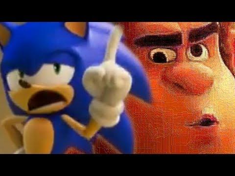 Ralph Breaks Sonic