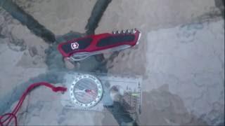 Victorinox tweezers compass