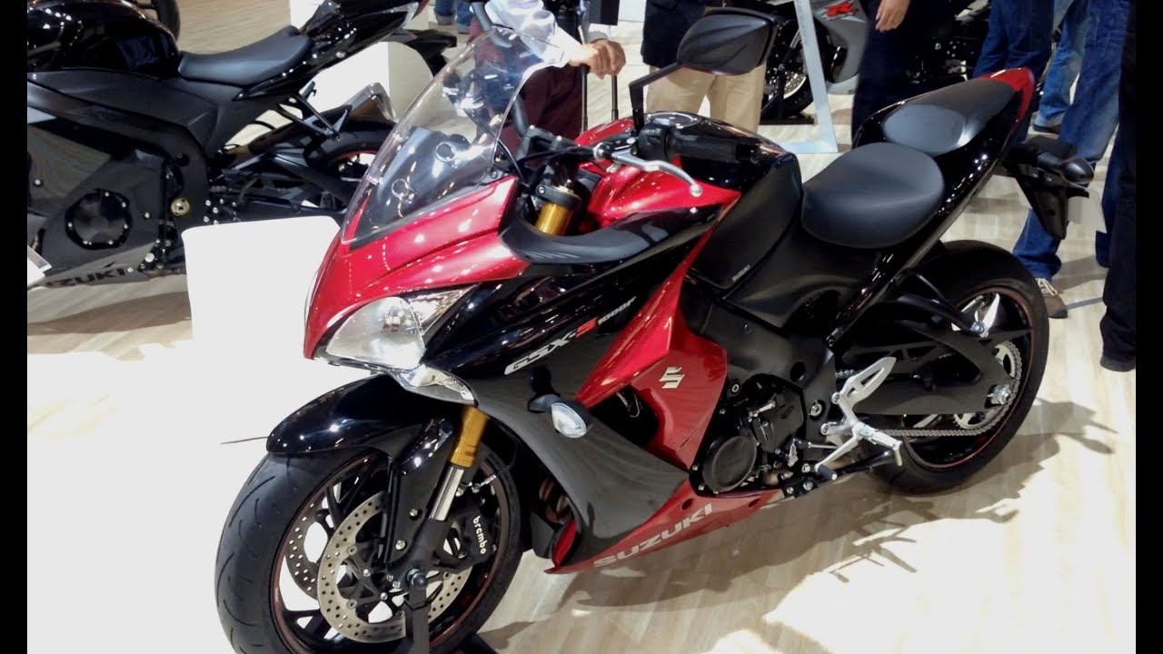 suzuki gsx s1000f walk around at intermot visordown exclusive youtube. Black Bedroom Furniture Sets. Home Design Ideas