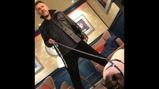 Сергей Шнуров и поросёнок Йося шагают в 2019 год свиньи