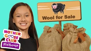 Baa Baa Black Sheep | Mother Goose Club Playhouse Kids Video