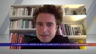 Yvelines | Le directeur du théâtre de SQY en colère suite à la décision gouvernementale