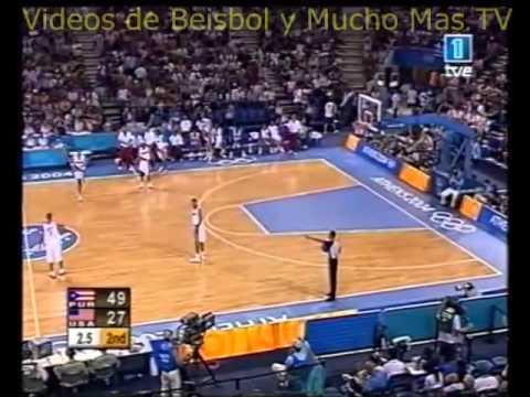 Puerto Rico derrota al Dream Team USA juego completo Atenas 2004