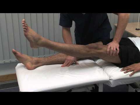 Macleod's examination of lower limb motor function