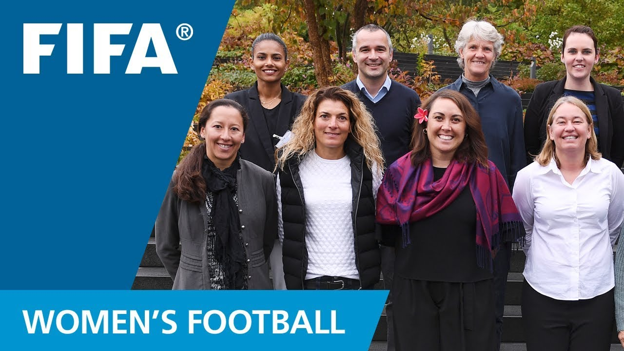 Women's football experts help FIFA on Pilot Projects